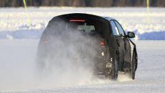 Nuova Hyundai 45: una vista della coda durante i test sul ghiaccio