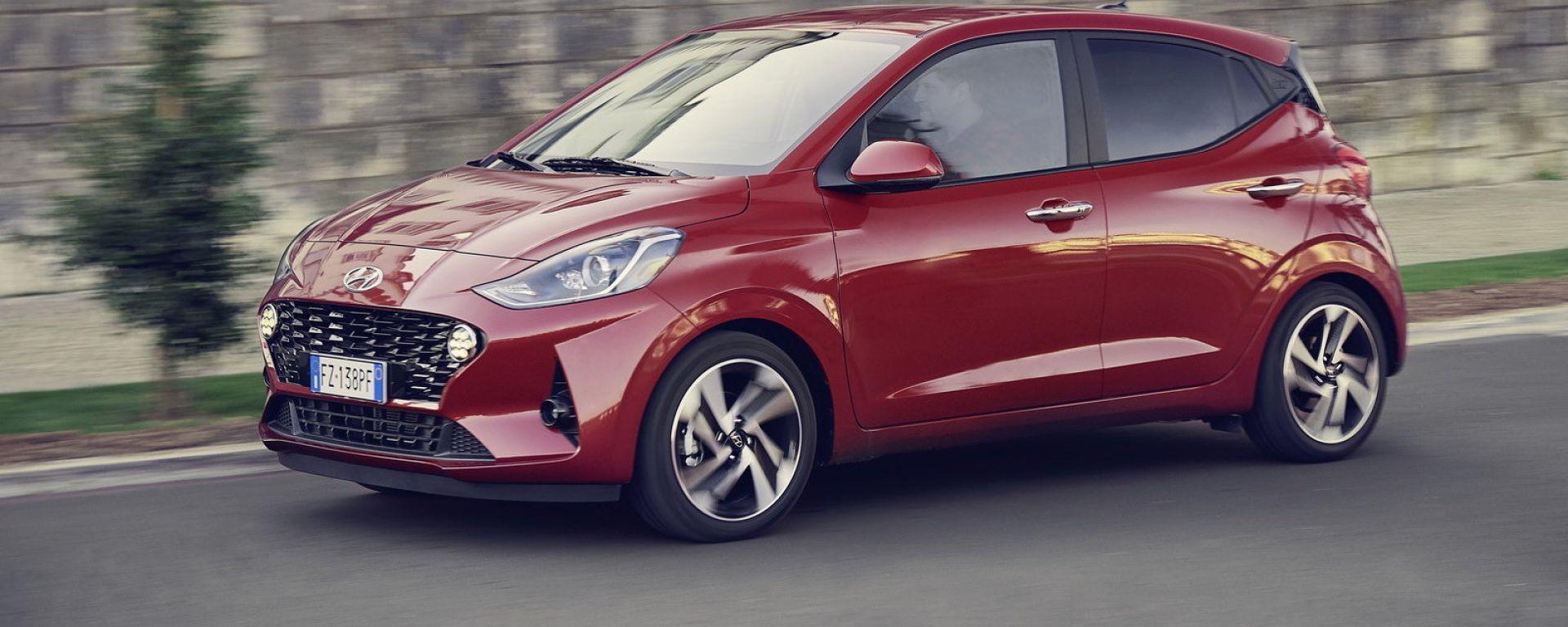 Nuova Hyundai i10 2020: arriva la citycar coreana più spaziosa e piacevole da guidare