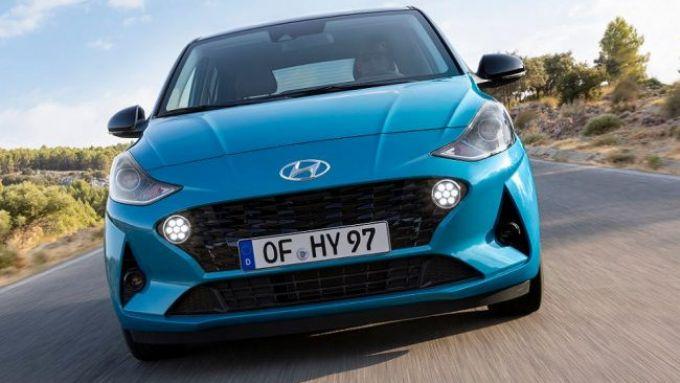 Nuova Hyundai i10 2020: bella da vedere grazie a uno stile più moderno e aggressivo