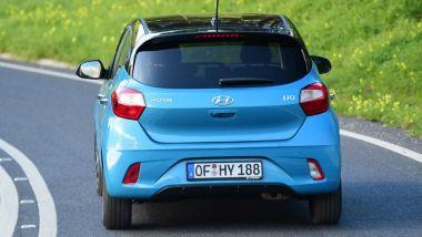 Nuova Hyundai i10 2020: dietro cambia meno ma il look resta personale
