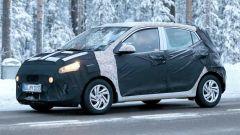Nuova Hyundai i10 2020: foto spia