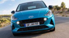 NUova Hyundai i10 2020: il frontale dallo stile aggressivo