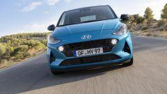 Nuova Hyundai i10 2020: il frontale rinnovato