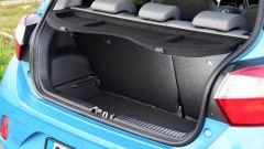 Nuova Hyundai i10 2020: il vano bagagli da 252 litri con schienale posteriore frazionabile 60:40
