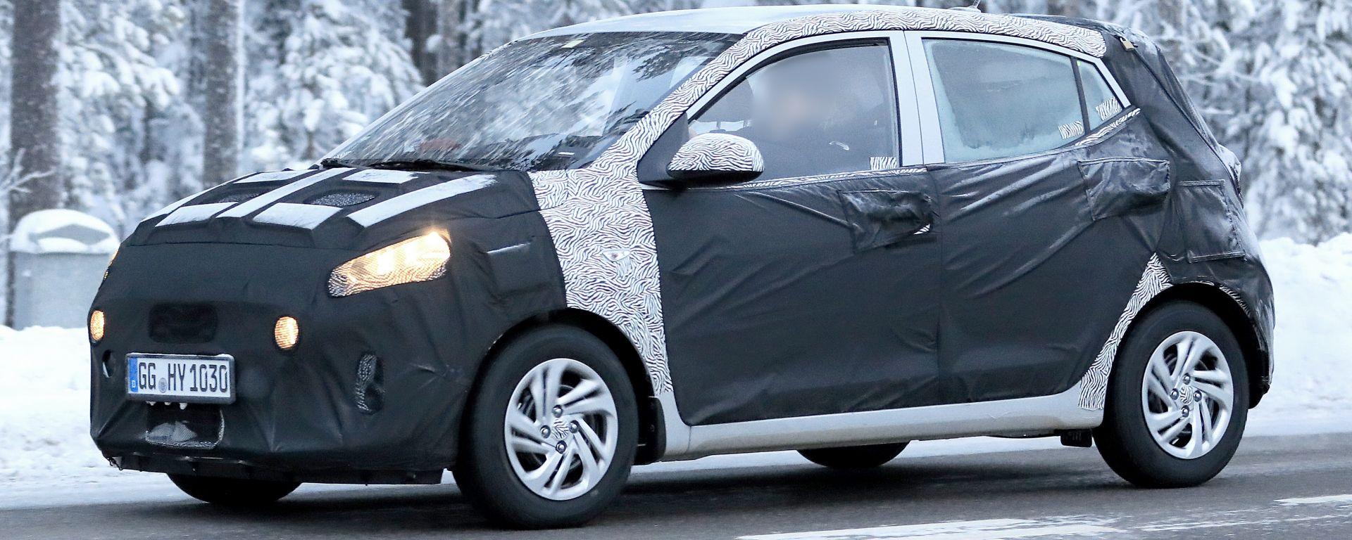 Nuova Hyundai i10: nel 2020 la rivale della Panda
