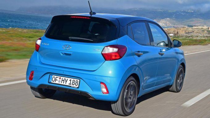 Nuova Hyundai i10 2020: le nuove forme della compatta coreana