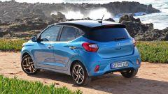 Nuova Hyundai i10 2020: le proporzioni sono ricalibrate rispetto alla precedente versione