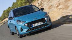 Nuova Hyundai i10 2020: motore mille tre cilindri da 67 CV