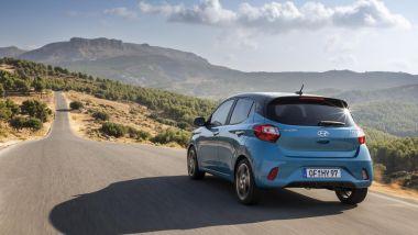 Nuova Hyundai i10 2020: stile nuovo anche dietro