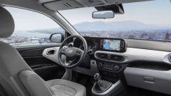 Nuova Hyundai i10 2020: una vista d'insieme dell'abitacolo