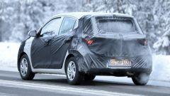 Nuova Hyundai i10, foto spia dal Nord Europa