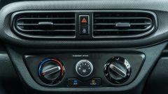 Nuova Hyundai i10: i comandi del clima