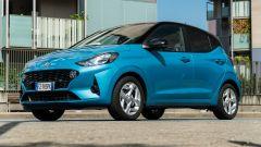 Nuova Hyundai i10: il 3/4 anteriore