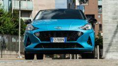 Nuova Hyundai i10: il frontale