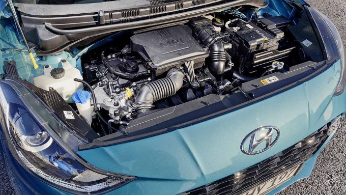 Nuova Hyundai i10: il motore