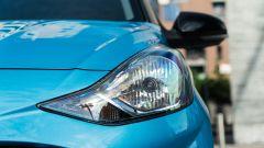 Nuova Hyundai i10: le luci anteriori