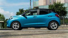 Nuova Hyundai i10: vista laterale