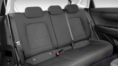 Nuova Hyundai i20: il divanetto posteriore