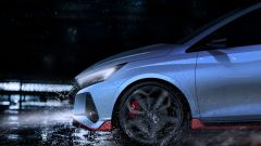 Nuova Hyundai i20 N: dettaglio anteriore