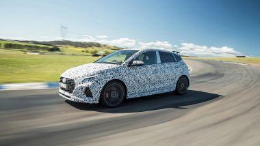Nuova Hyundai i20 N: dettaglio frontale