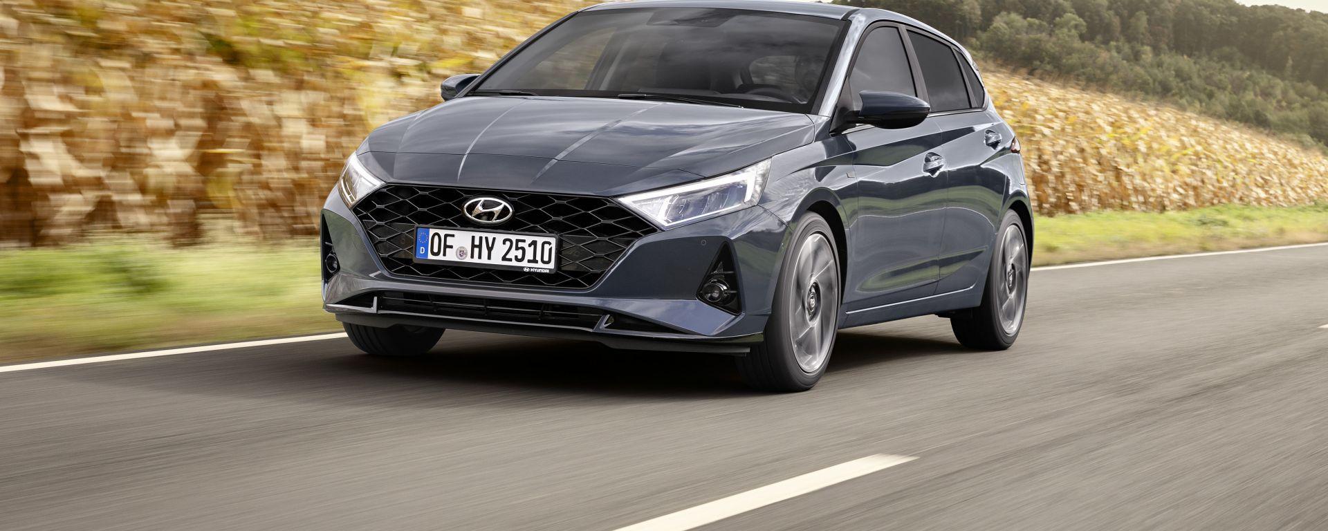 Nuova Hyundai i20: sull'utilitaria debutta la motorizzazione mild-hybrid