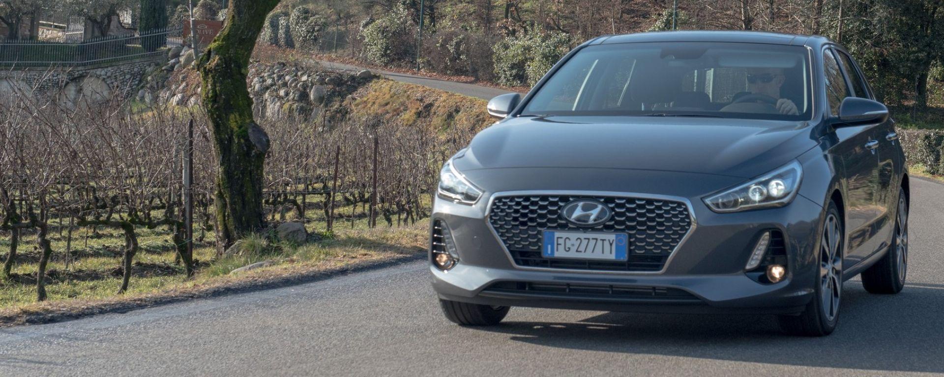 Nuova Hyundai i30 2017, la prova su strada
