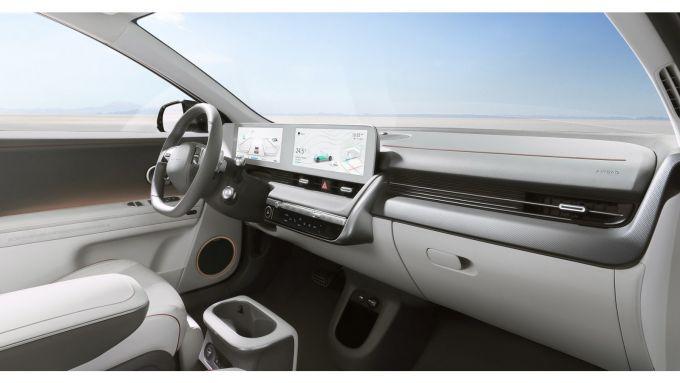 Nuova Hyundai Ioniq5: interni