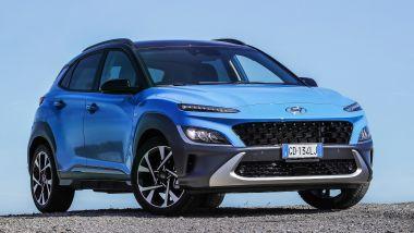 Nuova Hyundai Kona Hybrid: disponibile in tre allestimenti sul mercato italiano