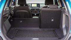 Nuova Hyundai Kona Hybrid: il bagagliaio con una capienza da 361 a 1.143 litri