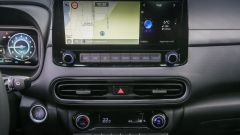 Nuova Hyundai Kona Hybrid: il touchscreen da 8