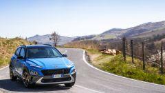 Nuova Hyundai Kona Hybrid: piacere di guida e buona comfort