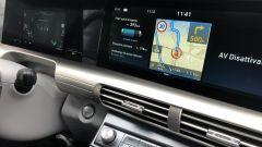 Nuova Hyundai Nexo: i due display del sistema infotainment