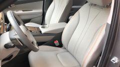 Nuova Hyundai Nexo: i sedili anteriori