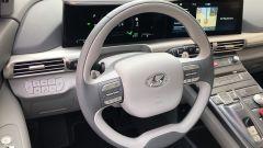 Nuova Hyundai Nexo: la plancia e il volante