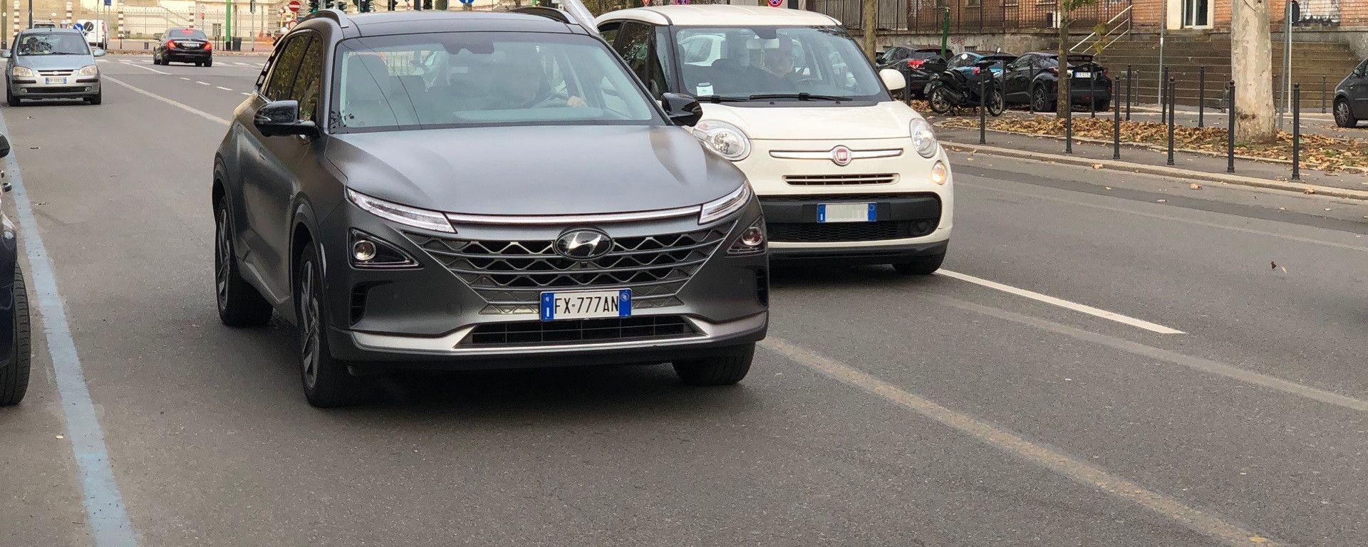 Nuova Hyundai Nexo: l'abbiamo provata su strada