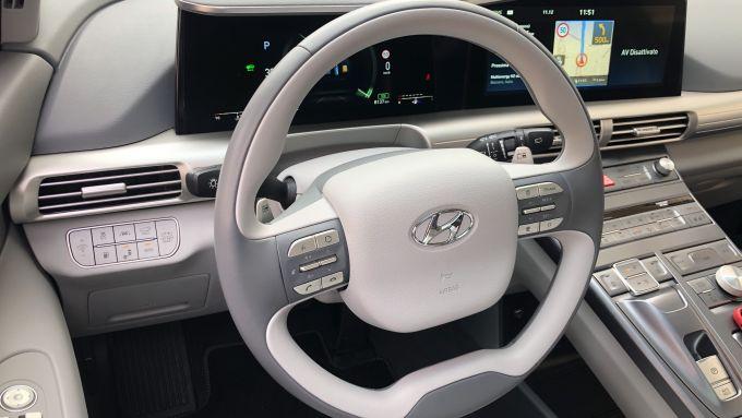 Nuova Hyundai Nexo: l'abitacolo con rivestimenti ecologici