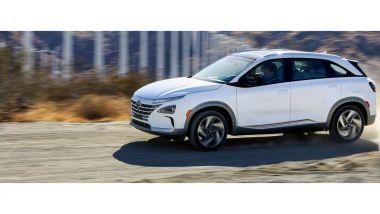 Nuova Hyundai Nexo: motore elettrico da 163 CV e 395 Nm