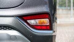Nuova Hyundai Santa Fe 2019: dettaglio dei retronebbia