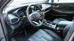Nuova Hyundai Santa Fe 2019: gli interni