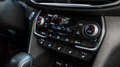 Nuova Hyundai Santa Fe 2019: i comandi del climatizzatore