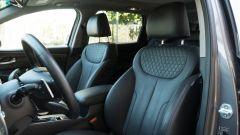 Nuova Hyundai Santa Fe 2019: i sedili anteriori