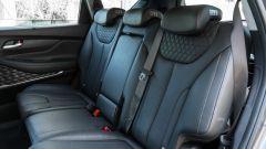 Nuova Hyundai Santa Fe 2019: i sedili della seconda fila