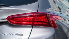 Nuova Hyundai Santa Fe 2019: il fanale posteriore