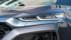 Nuova Hyundai Santa Fe 2019: il faro anteriore