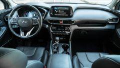 Nuova Hyundai Santa Fe 2019: la plancia