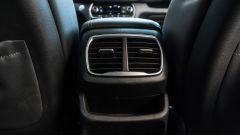 Nuova Hyundai Santa Fe 2019: le bocchette di ventilazione posteriori