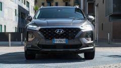 Nuova Hyundai Santa Fe 2019: vista frontale