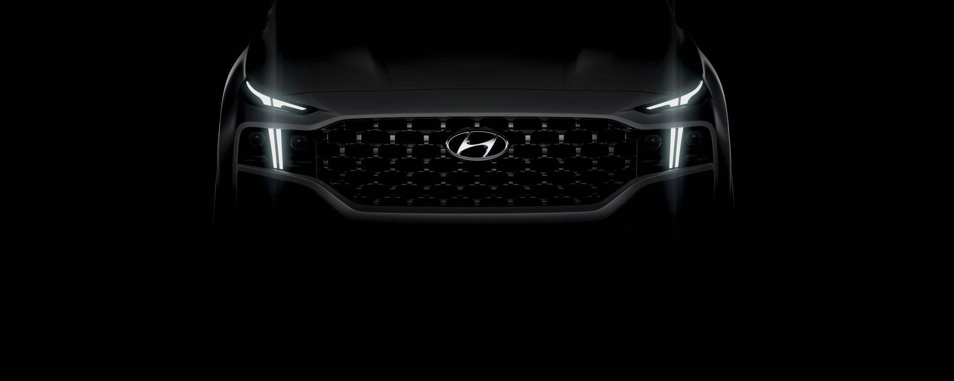 Nuova Hyundai Santa Fe 2020: primo teaser