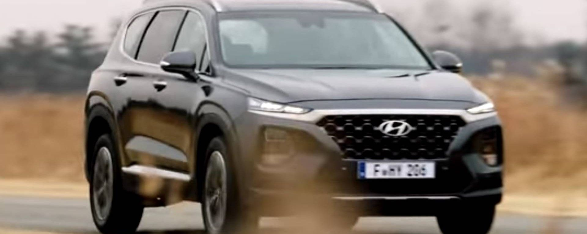 Nuova Hyundai Santa Fe: nuove immagini e video