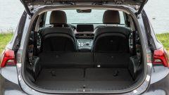 Nuova Hyundai Santa Fe: bagagliaio con tutti i sedili abbassati